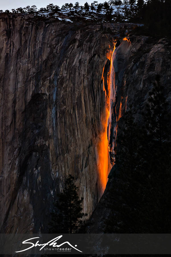 Photograph Firefall of Horsetail Falls by Shawn Reeder on 500px