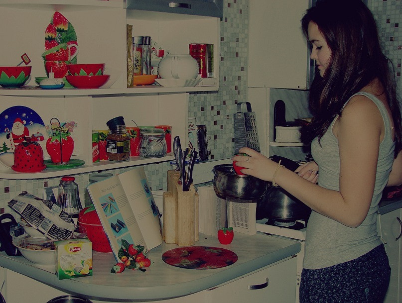 Photograph kitchen by Karina Abdeeva on 500px
