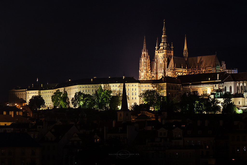 Photograph Prague by night by Bastien HAJDUK on 500px