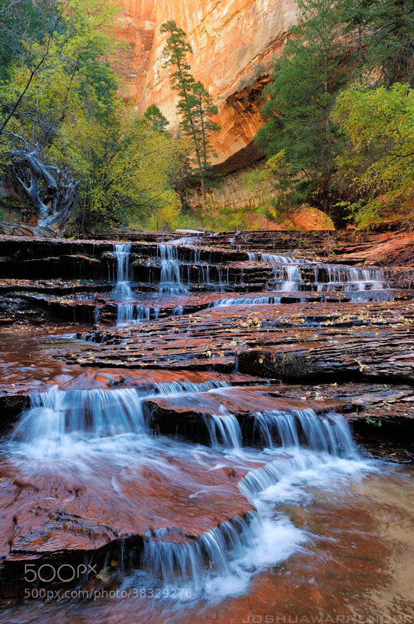 Photograph Archangel Falls by Joshua Warrender on 500px