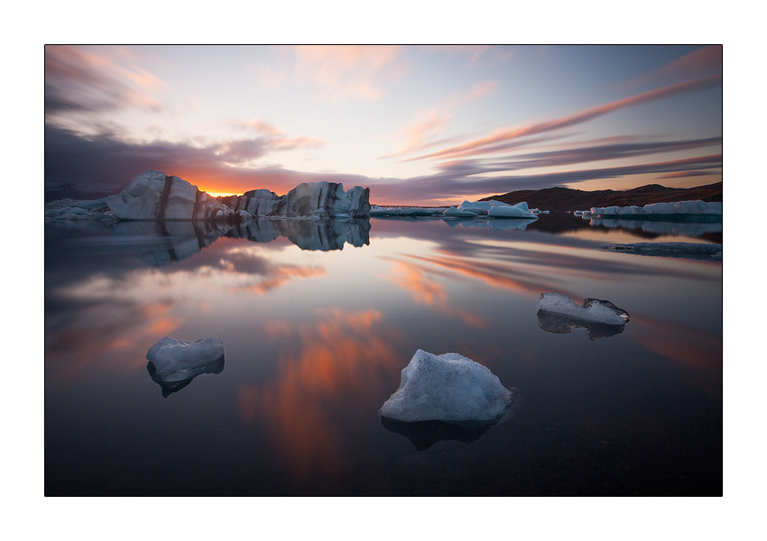 Photograph Jokülsarlon Glacier Lagoon by Dries De Block on 500px