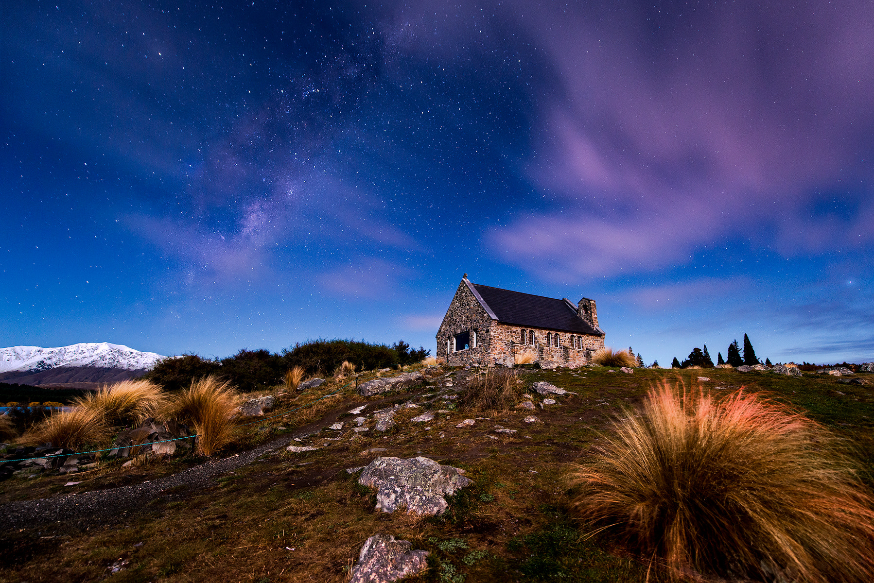 Photograph Church of the Good Shepherd at Night by Danny Xeero on 500px