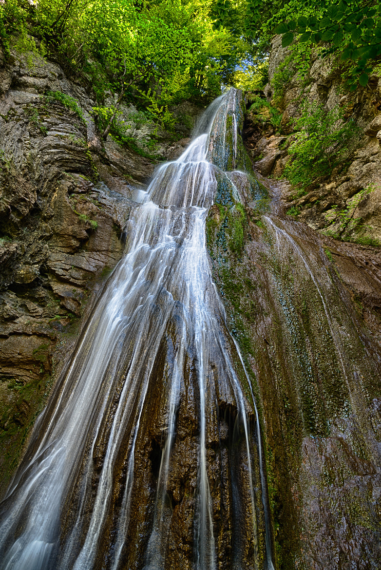Photograph Waterfall of Môtiers by Jérôme Rosat on 500px