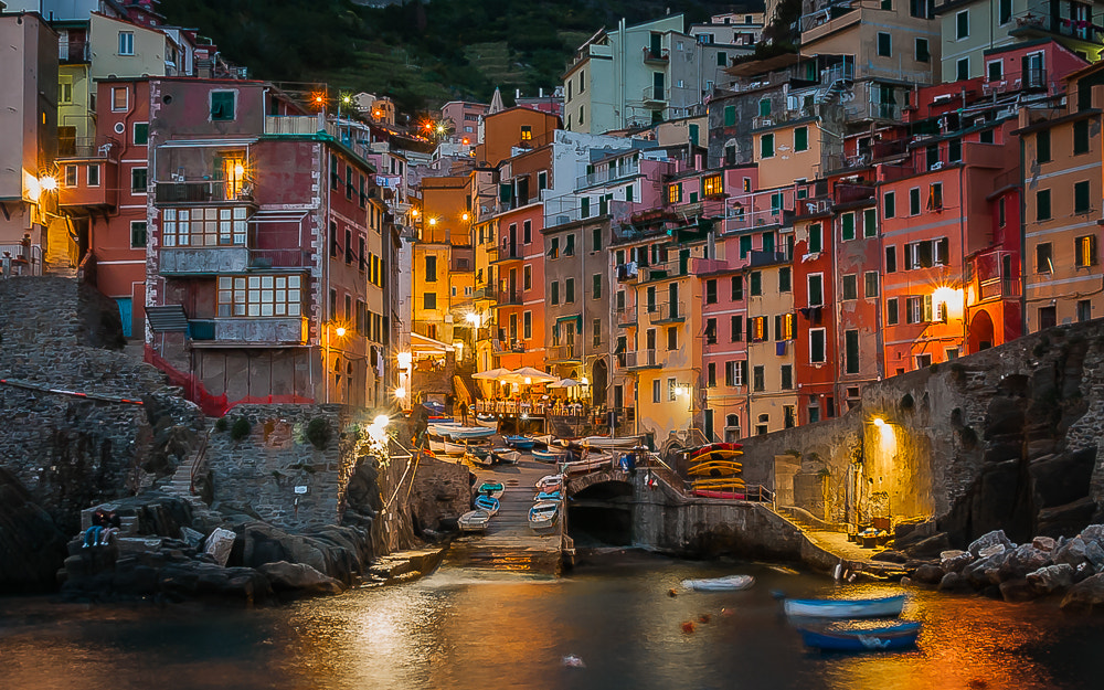 Photograph Riomaggiore Harbor by Keith Custis on 500px