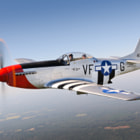 "P-51D Mustang ""Red Nose"". Oct 2011"