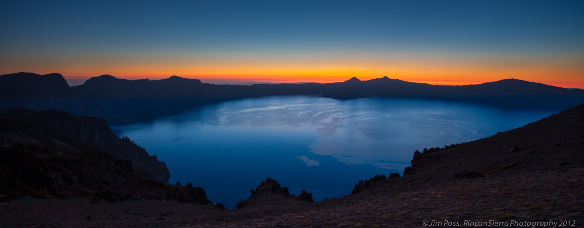 Photograph Swirling Winds On Crater Lake  by Jim Ross on 500px