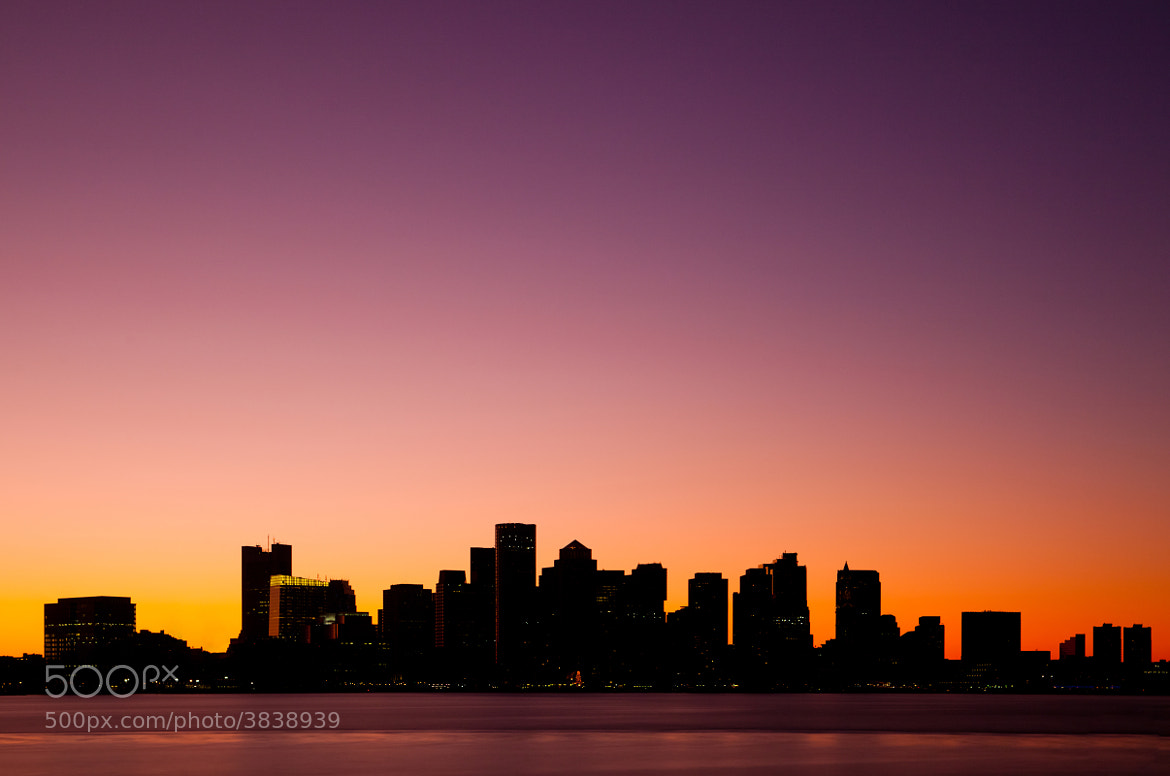 Photograph Boston at sunset by Rich Williams on 500px
