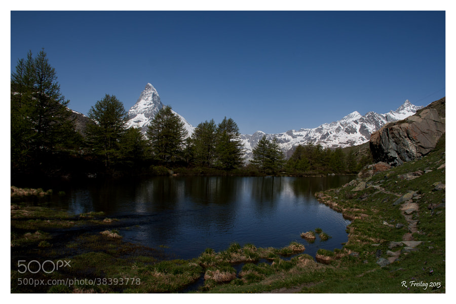 Matterhorn is one of the most photographed mountains in the world. A trip to Zermatt last week brought me up to the alps and I do understand now, why People love this mountain so much. It's simply a Beauty !