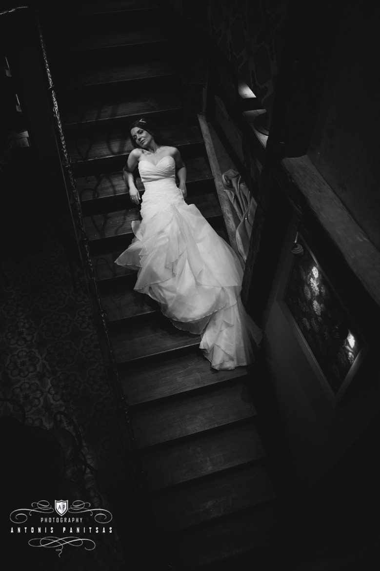 Photograph Bride on Stair.. by Antonis Panitsas on 500px