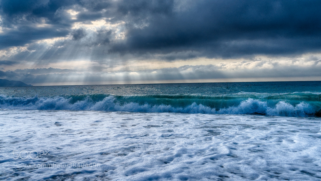 Photograph Blue&Sea... by Zekeriya DUZGUN on 500px