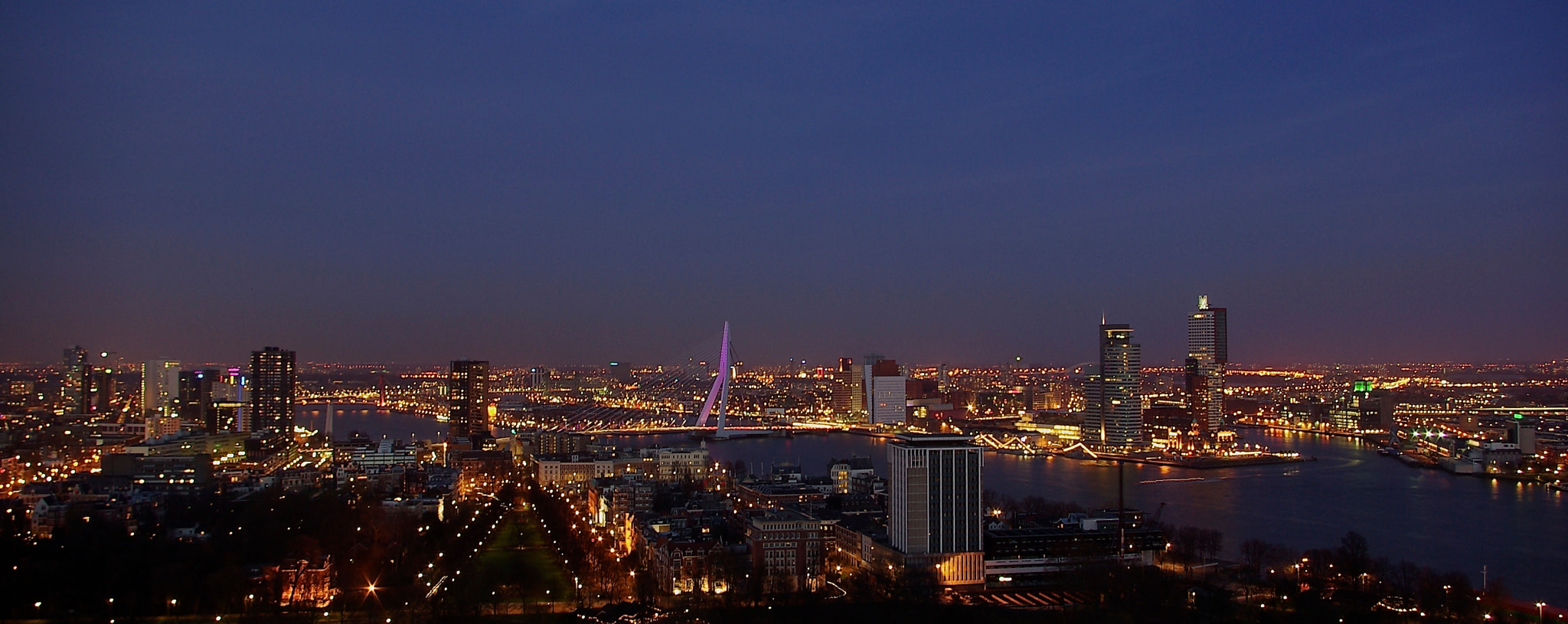 Photograph Rotterdam panorama by Bogdan's travel clicks on 500px