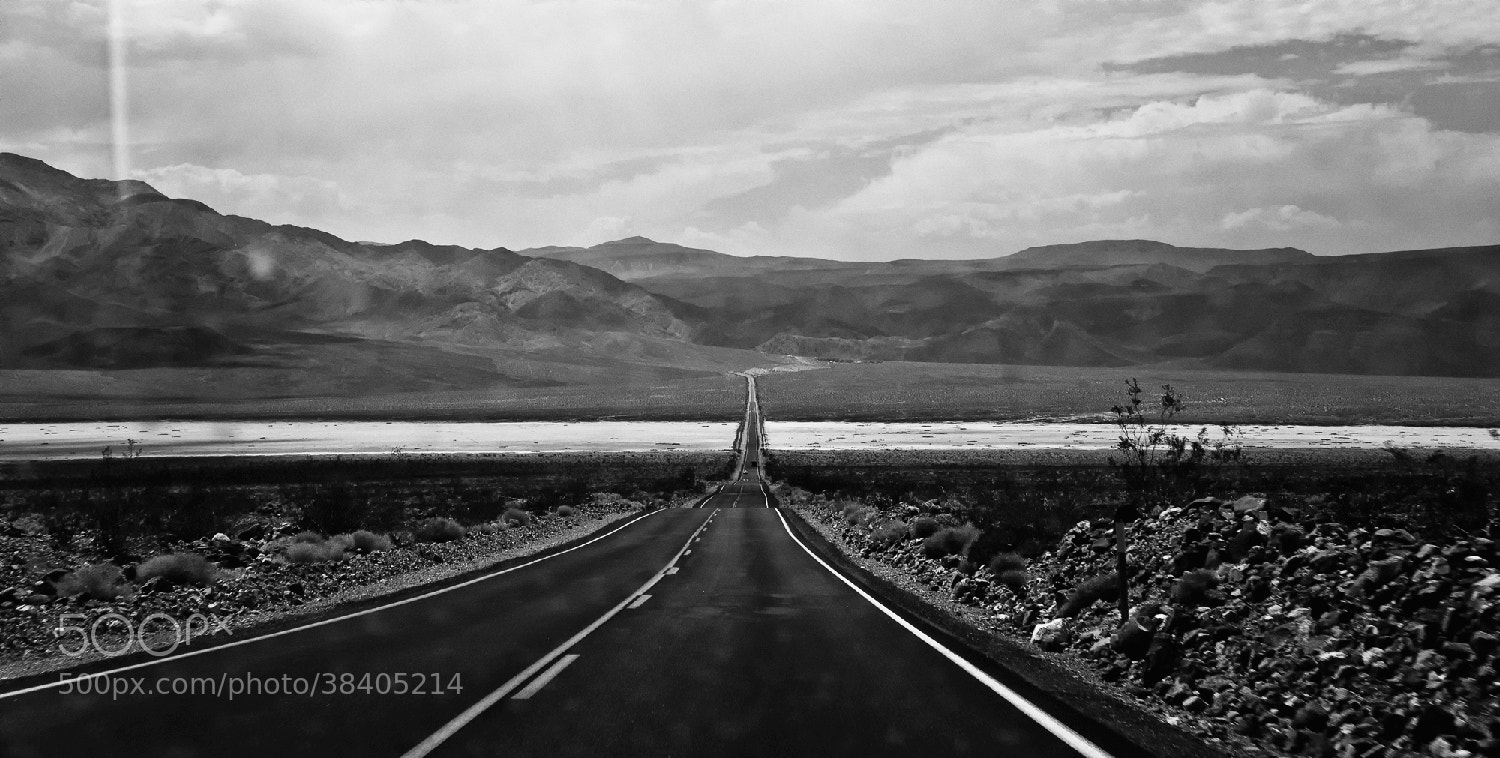Photograph Death on the road by Mathieu Bourlion on 500px