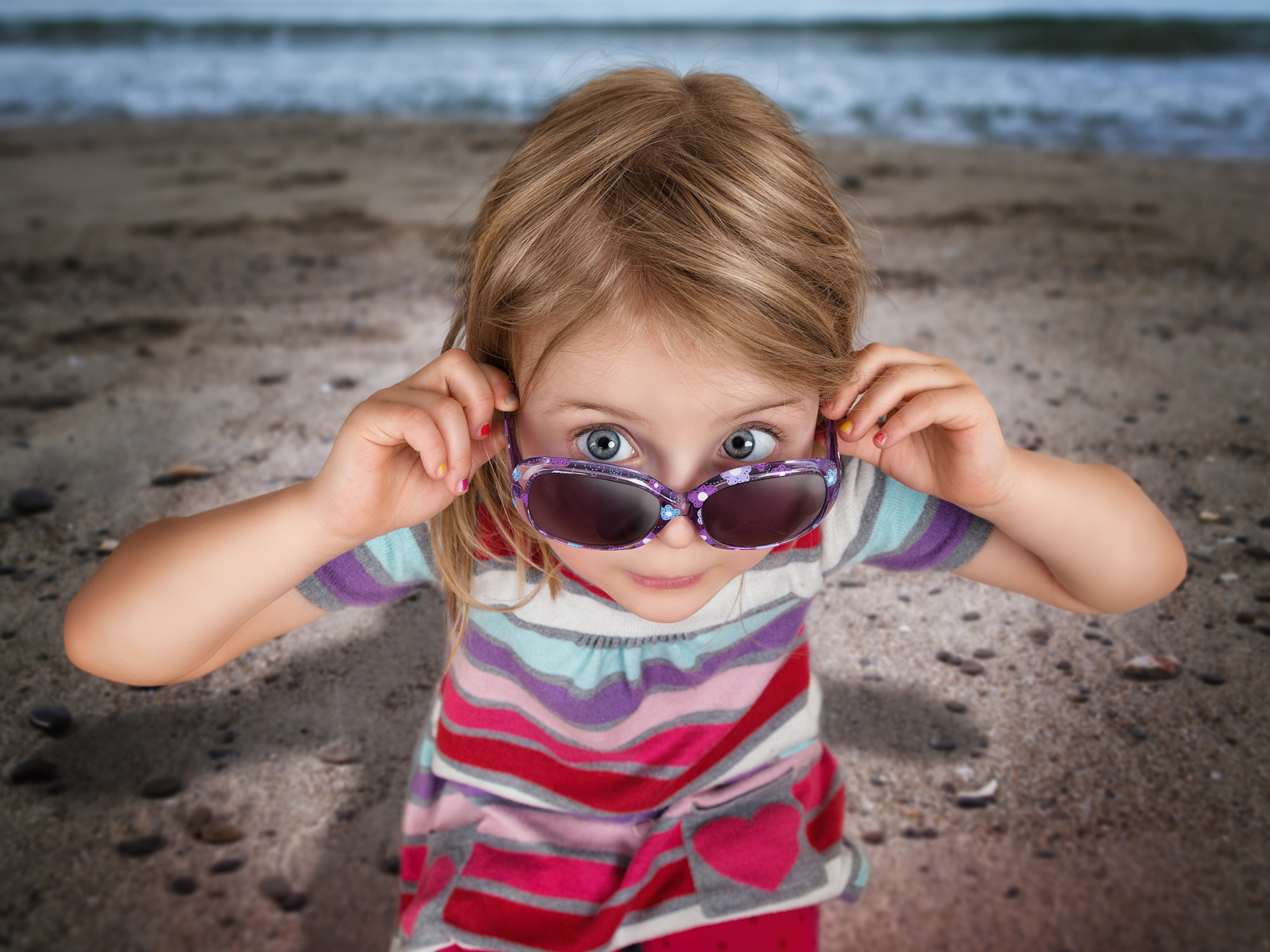 Photograph Just a girl on the beach by John Wilhelm is a photoholic on 500px