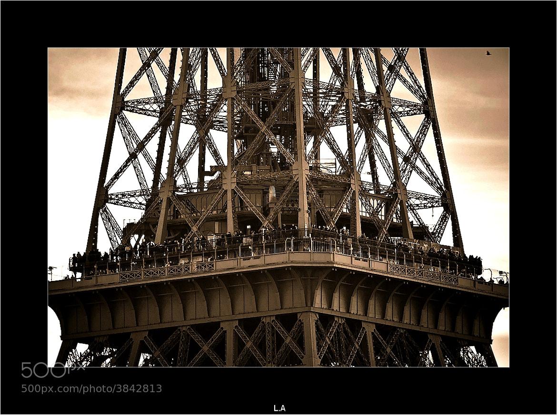 Photograph Paris : lighting town by Loïc Auffray on 500px