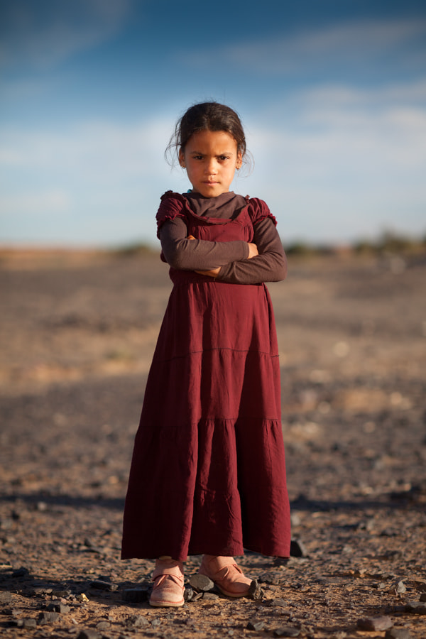 Photograph Berbere girl by Filipe Silva on 500px