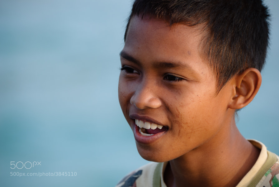Photograph Kid in Pulau Ai by Antoine Reveau on 500px