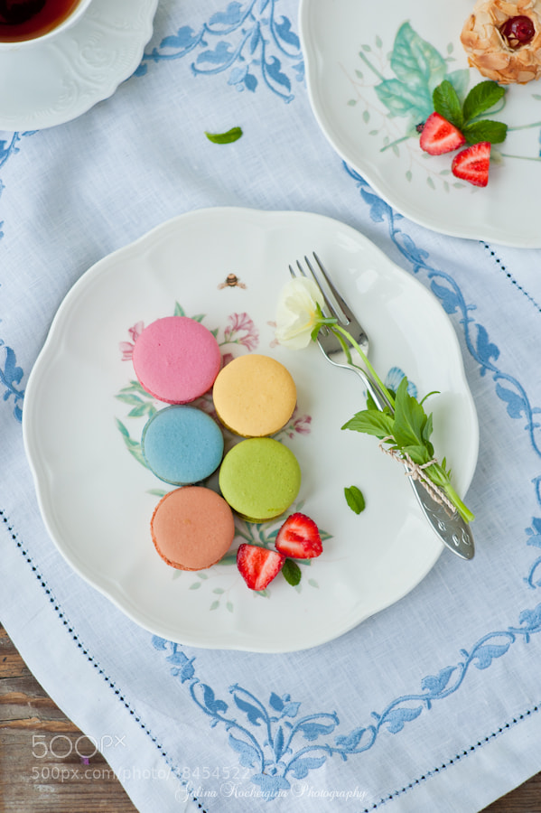 Photograph Appetizing macaroons by Galina Kochergina on 500px