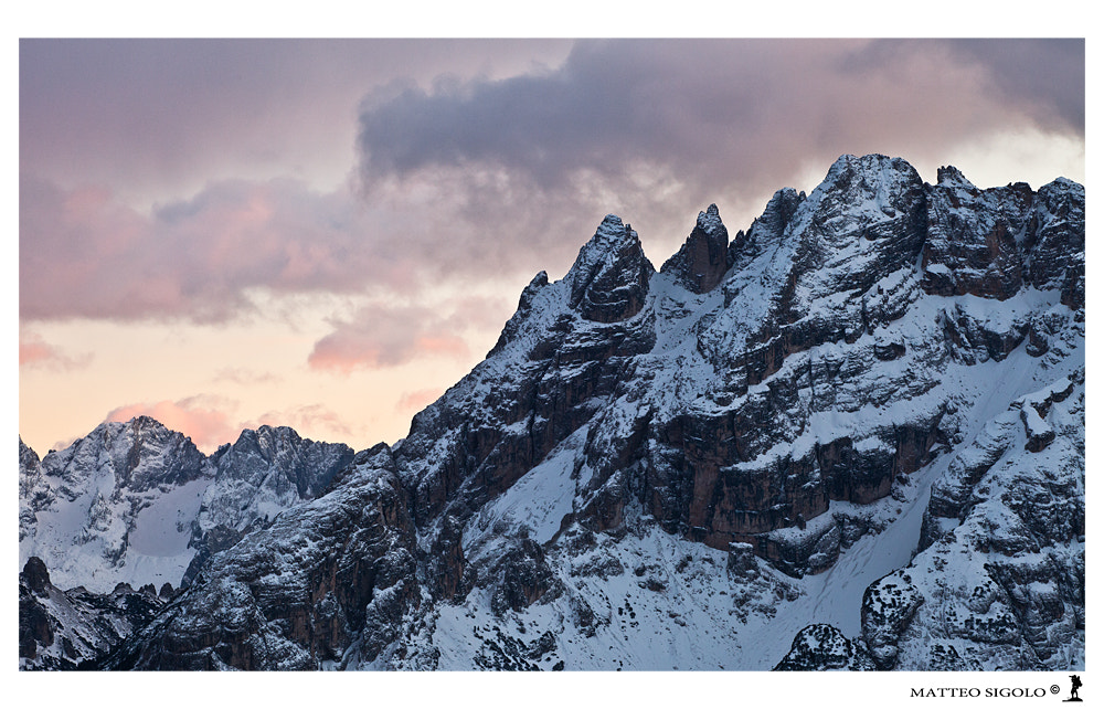 Photograph WHEN THE SUN GOES DOWN OVER THE TOPS by Matteo Sigolo www.teozzstudio.com on 500px