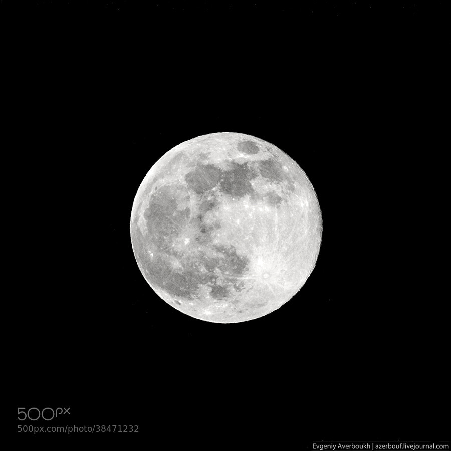 Supermoon by Evgeniy Averboukh (azerbouf)) on 500px.com