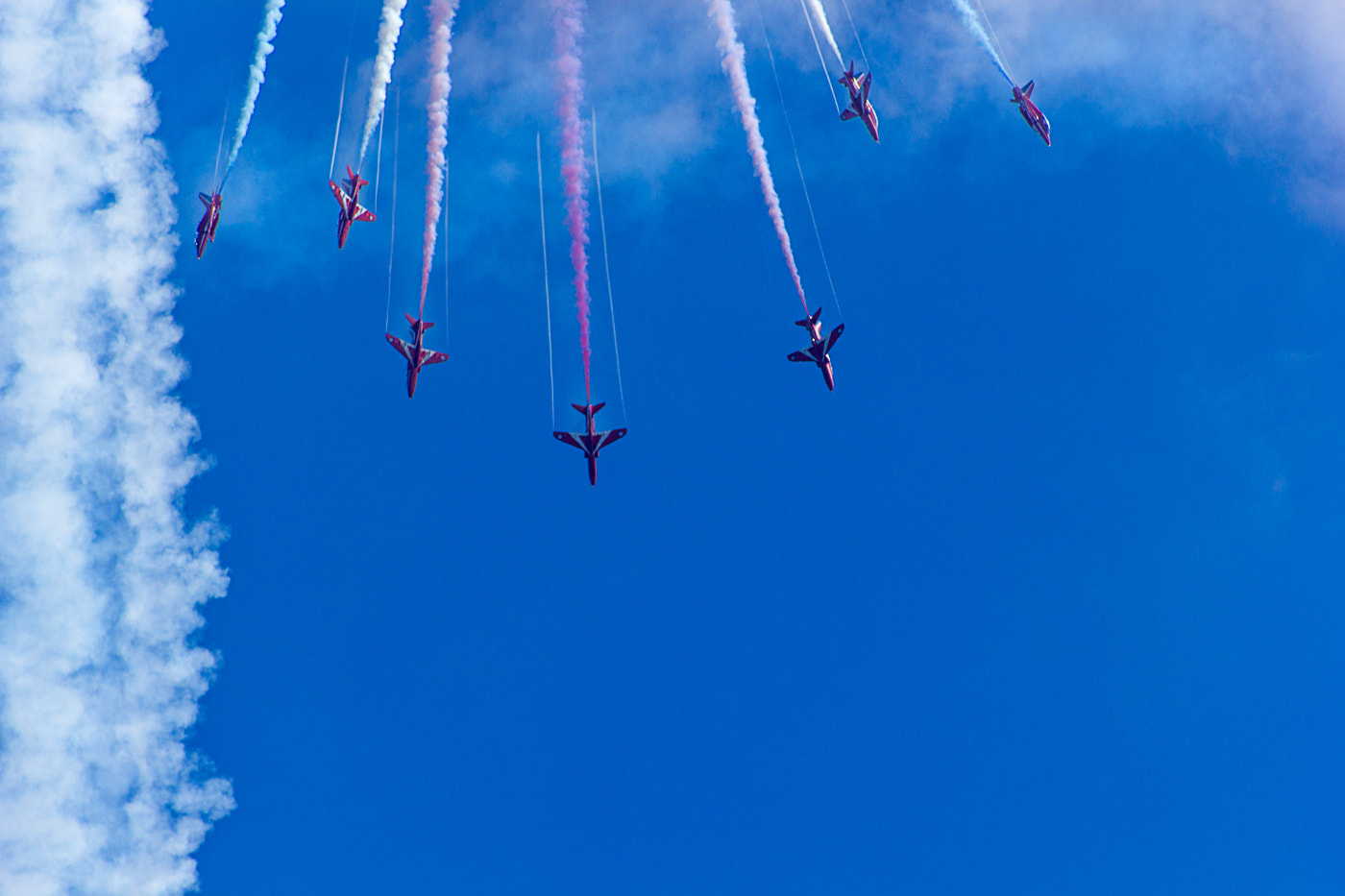 Photograph Red Arrows by Jeff Price-Jones on 500px