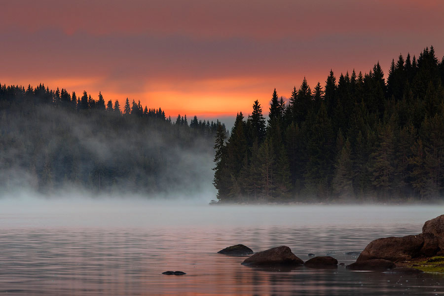 Photograph Steaming Lake by Evgeni Dinev on 500px