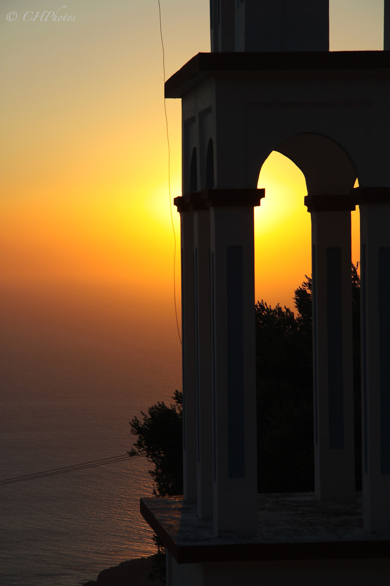 Photograph beautiful greek sunset  by Christoph Heinze on 500px