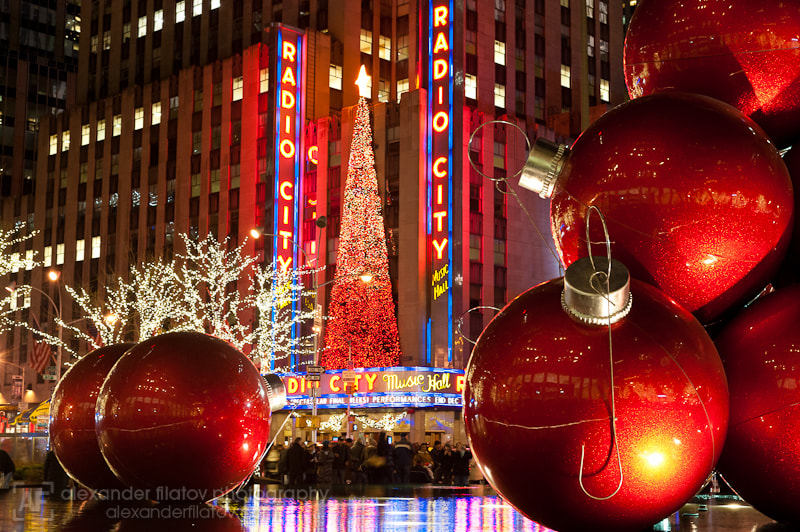 Photograph Festive Radio City Music Hall by Alex Filatov | alexfilatovphoto.com on 500px
