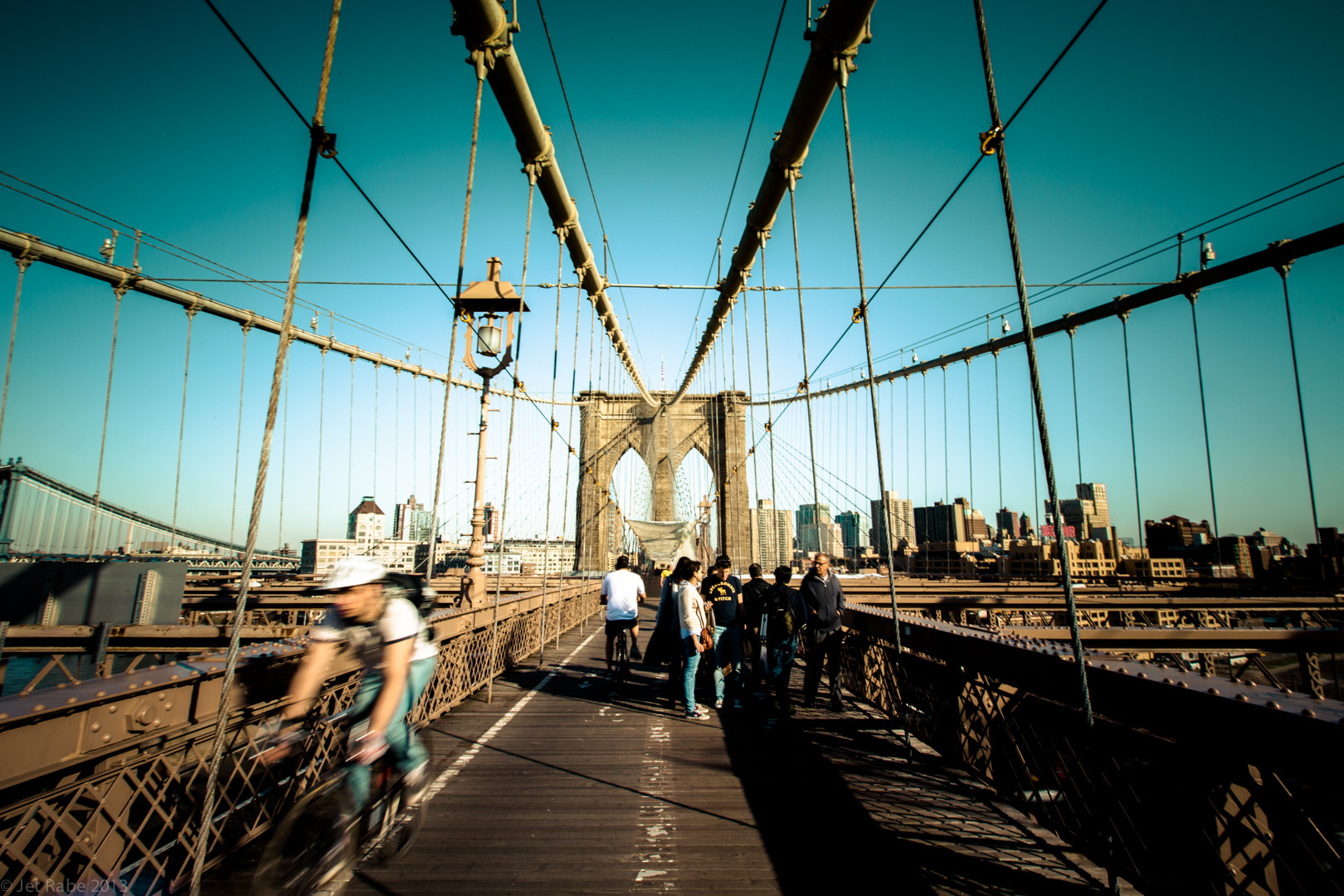 Photograph Inside the Brooklyn bridge by Jet Rabe on 500px