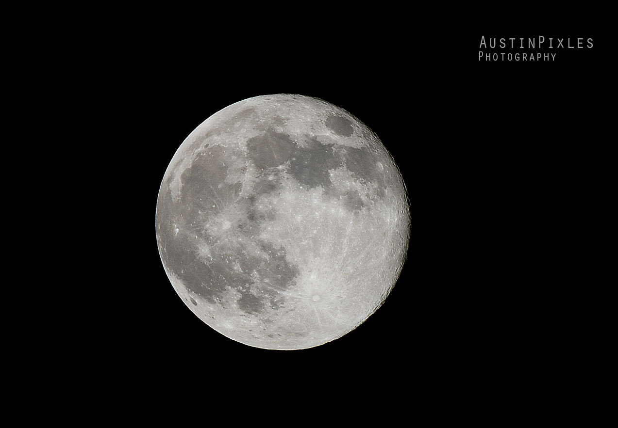 Photograph Perigee Full Moon 2013 by AustinPixels   on 500px