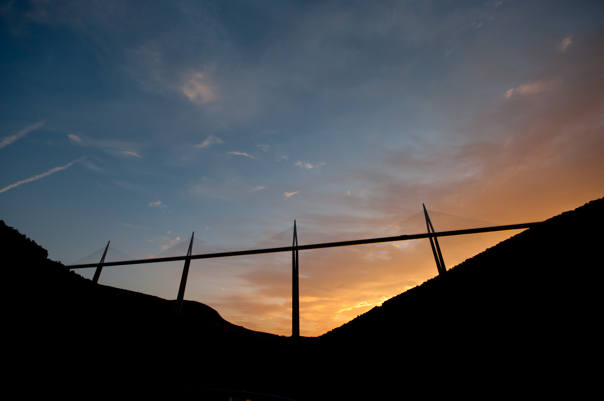 Photograph Millau Viaduct by Niels Boon on 500px