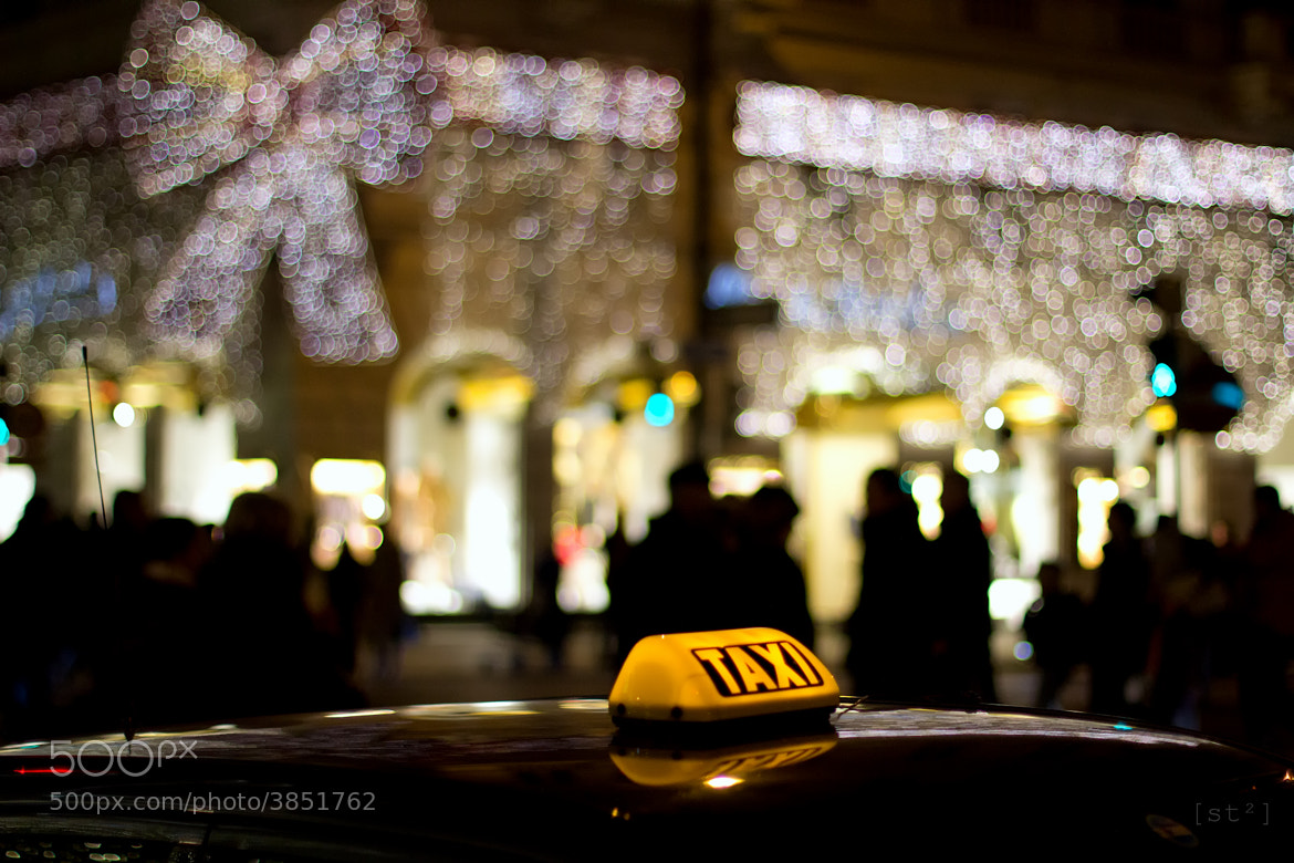 Photograph Taxi bokeh by Stefan Steinbauer on 500px
