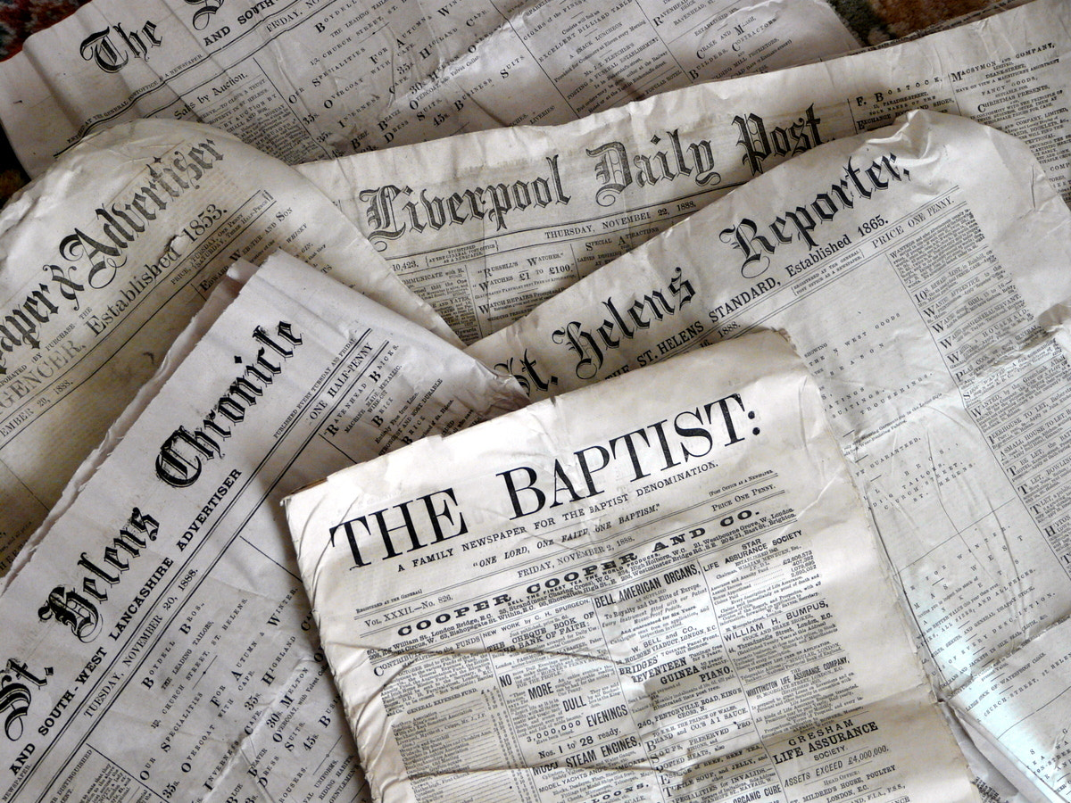 Photograph Old News by Tim Hyde on 500px