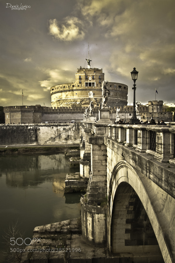 Roma - Castel Sant'Angelo by Daniele Lembo (DanieleLembo)) on 500px.com