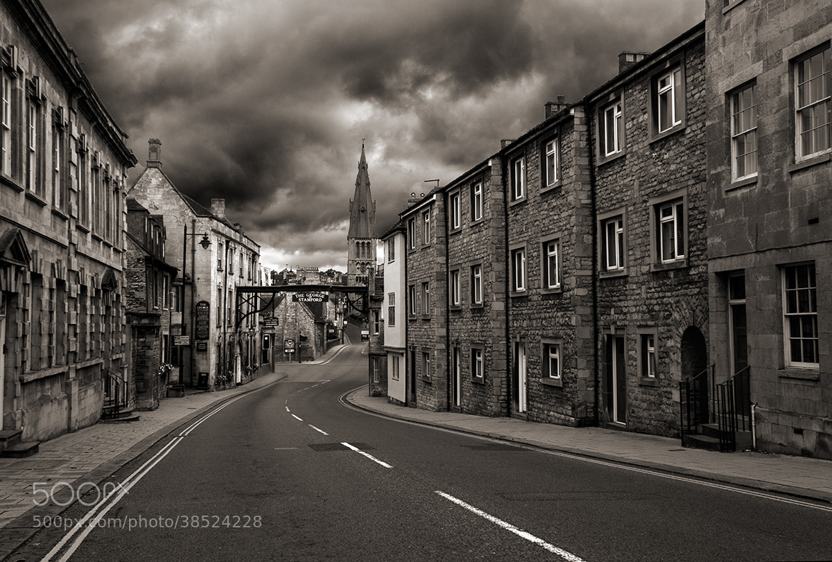 Photograph The George Hotel and St. Mary's Church, Stamford by Andrew Harper on 500px