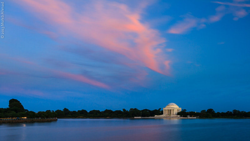 Photograph Jefferson Memorial by Mohib Ahmad on 500px