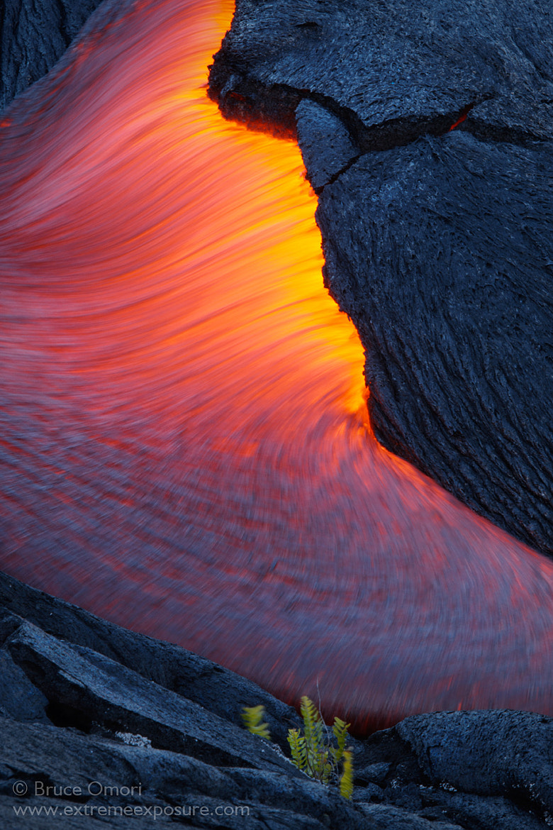 Photograph Lava Bleed by Bruce Omori on 500px