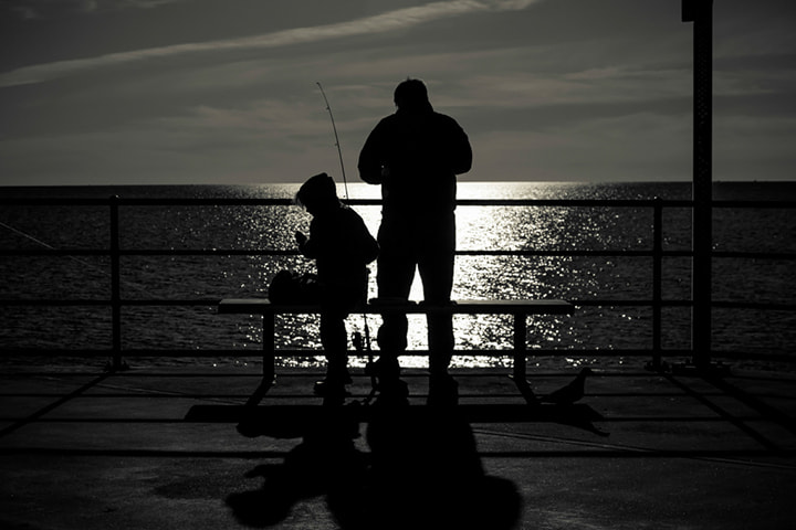 Photograph Sunset fishing by David Sark on 500px