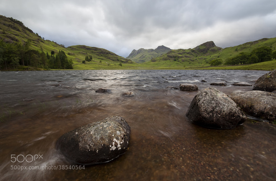 Blea Tarn, Lake District, UK.I was hoping for a beautiful sunset but it didn't materialise. Instead I encountered a very typical British summers day. Cool, wet, windy and overcast. Still, as the saying goes...in photography there is no such thing as bad light!