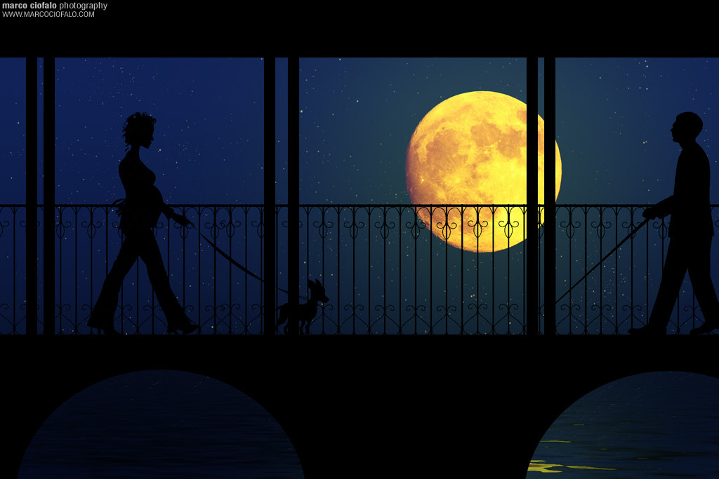 Photograph Big Moon by Marco Ciofalo Digispace on 500px
