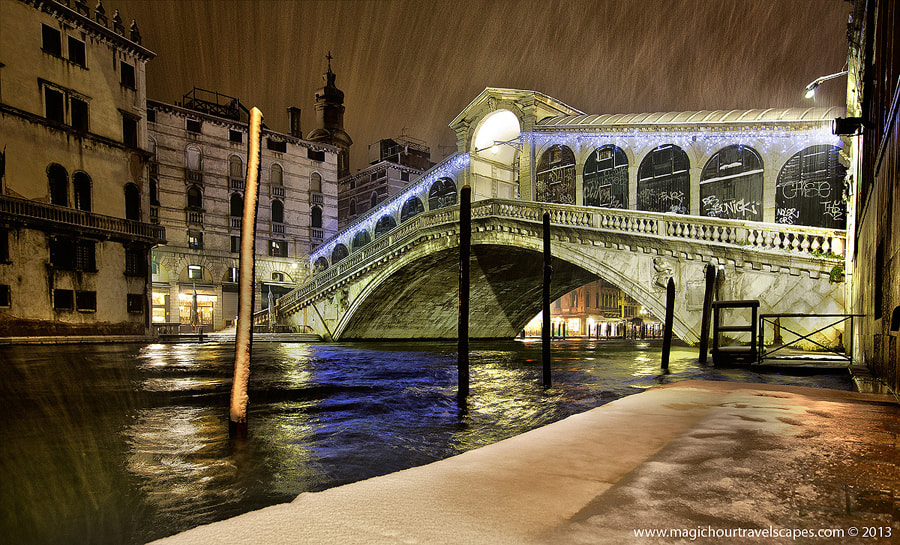 Photograph Snow Over Rialto by Kah Kit Yoong on 500px