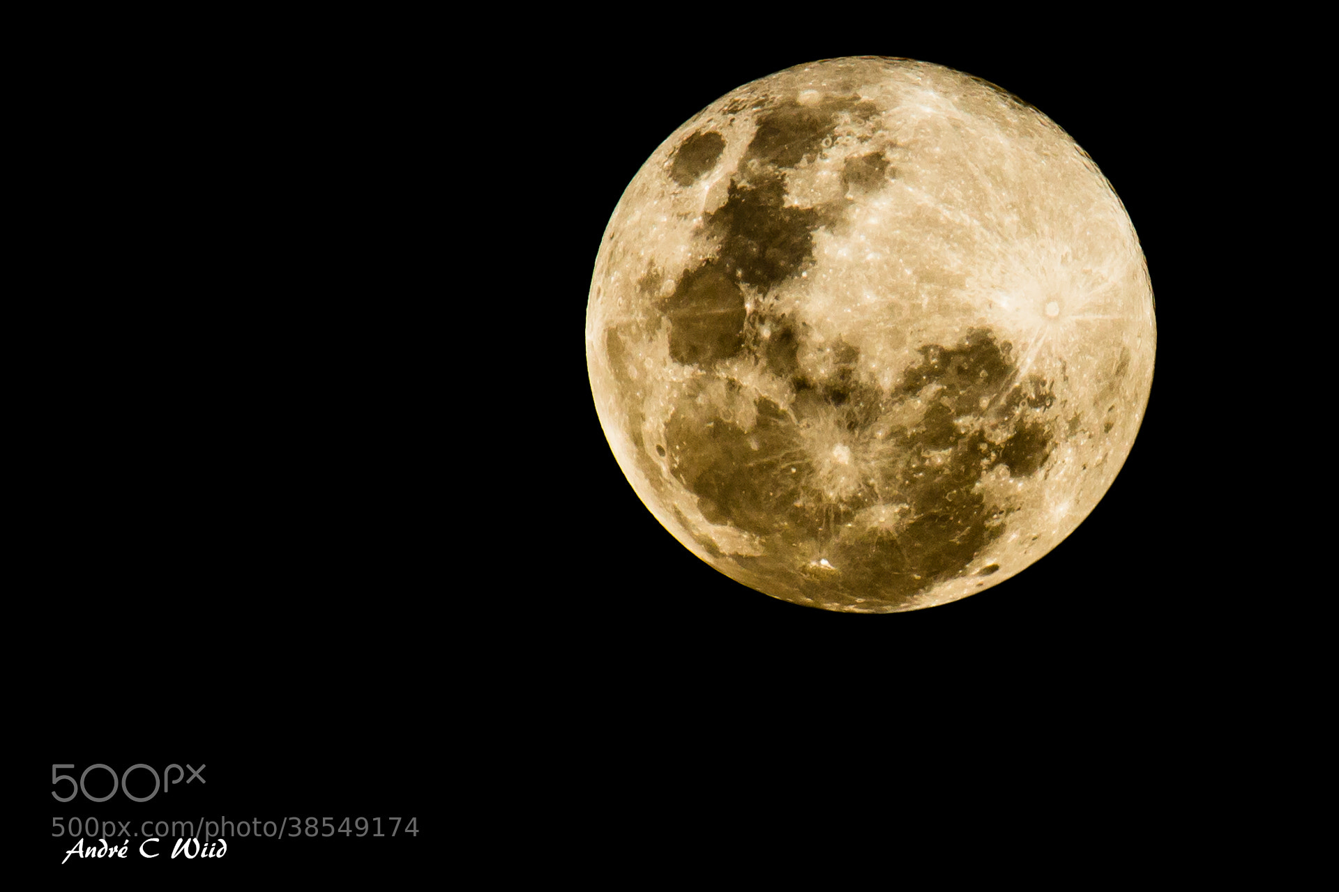 Photograph Moon by Andre Wiid on 500px
