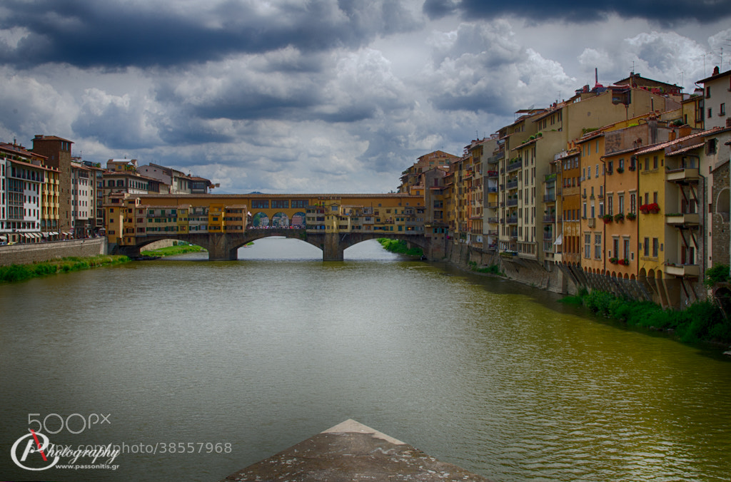 Photograph Ponte Vecchio, Arno River by Panagiotis Assonitis on 500px