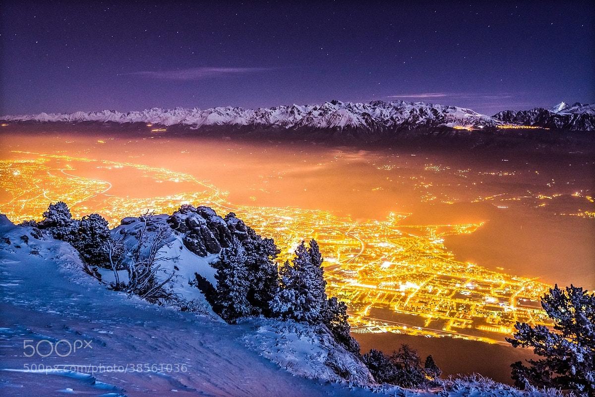 Photograph Winter night on Grenoble by Joris Kiredjian on 500px