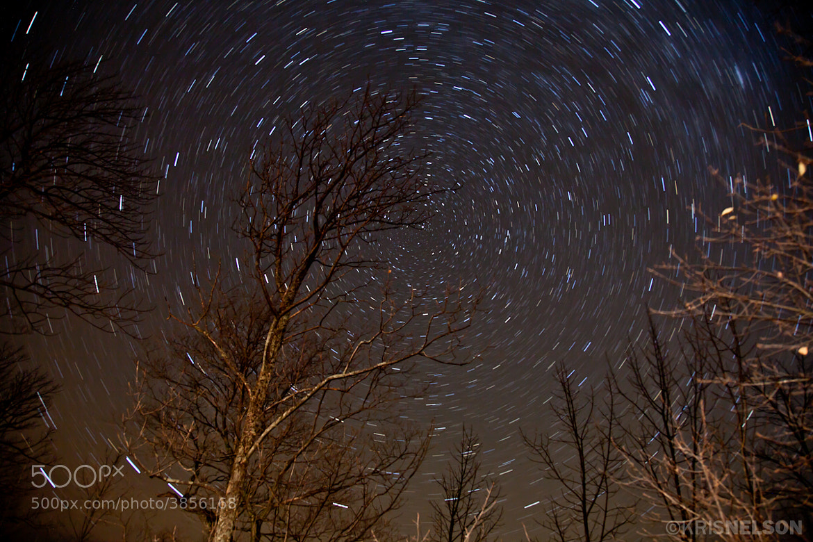 Photograph Door County Star Trails by Kris Nelson on 500px