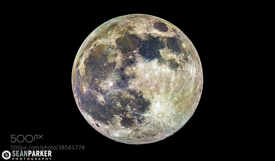 Photograph Supermoon 2013 by Sean Parker on 500px