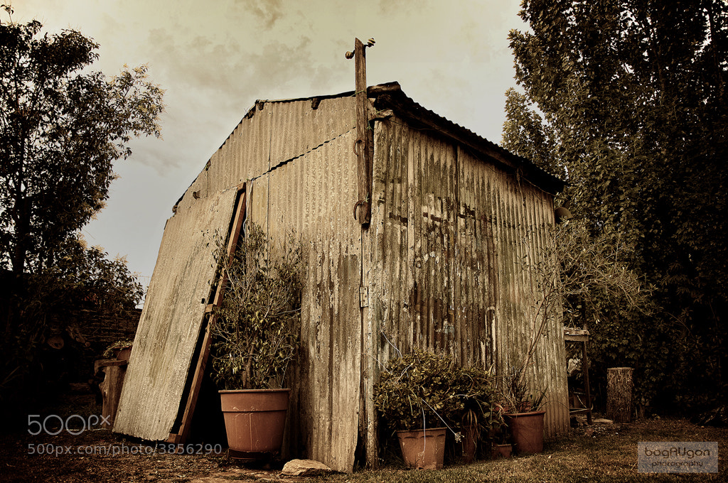 Photograph The wine shed by Gustavo Armand Ugon on 500px
