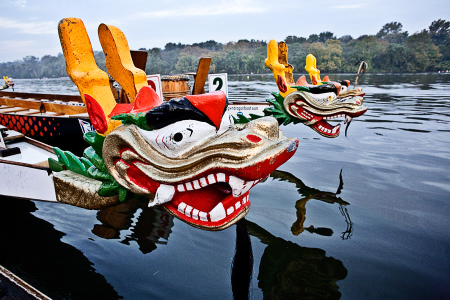 Photograph Dragon boats by Jack Booth on 500px