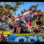 Постер, плакат: S osh Freestyle Cup World Cup Skateboarding