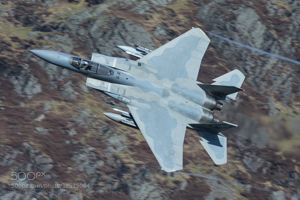"Photograph F15 C Eagle 493d ""Grim Reapers"" by Tony House on 500px"