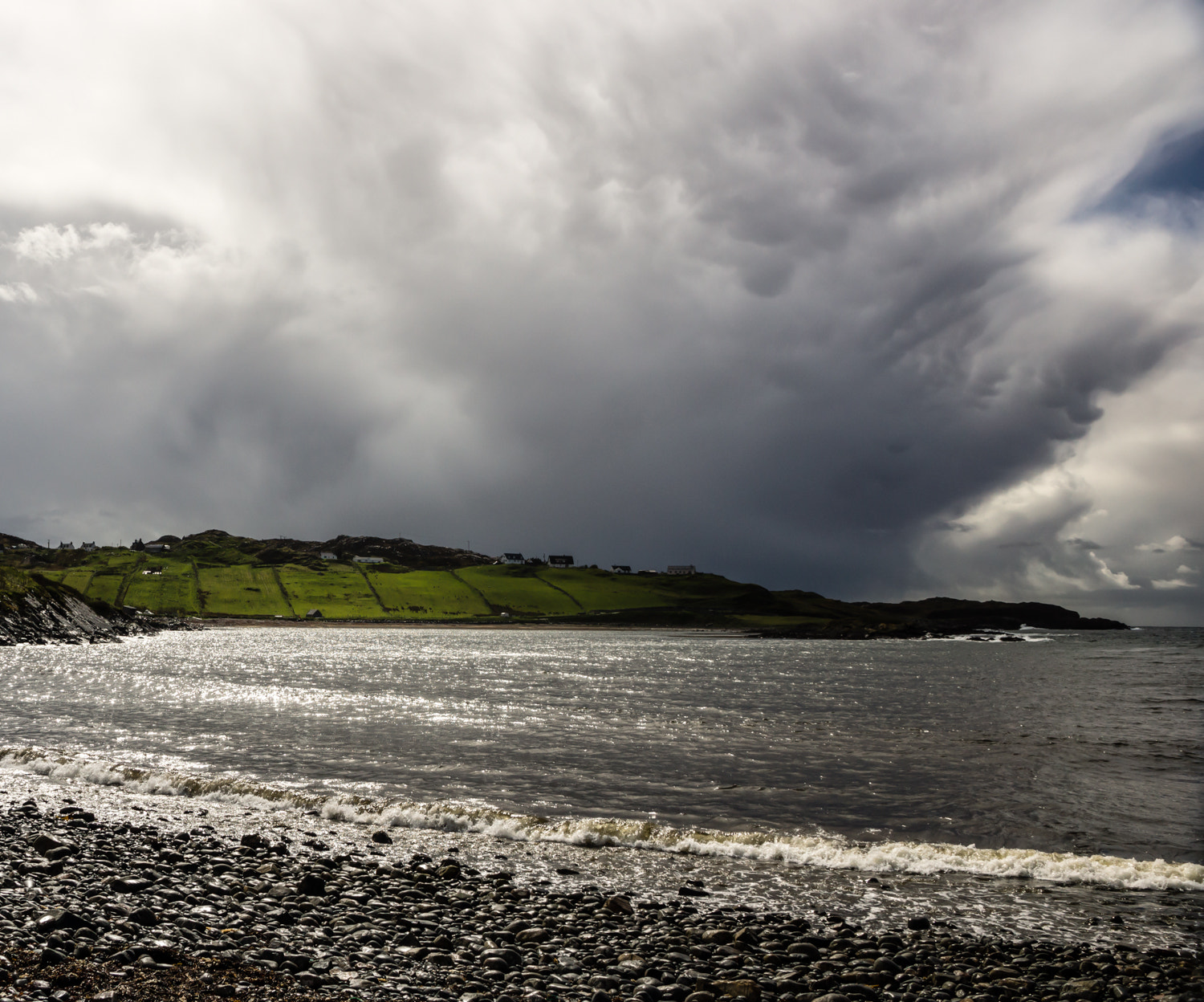 Photograph Storm approaching Scourie by RALPH  on 500px